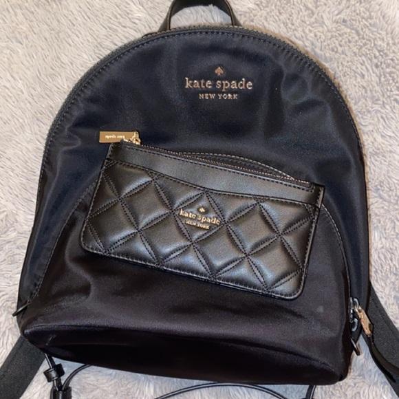 Kate Spade book bag purse and wallet